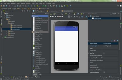 change layout android studio cambiar de layout android studio mundo choc cac