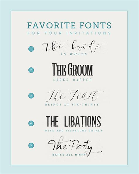 Wedding Font Diy by Five Fonts For Diy Wedding Invitations The Budget Savvy