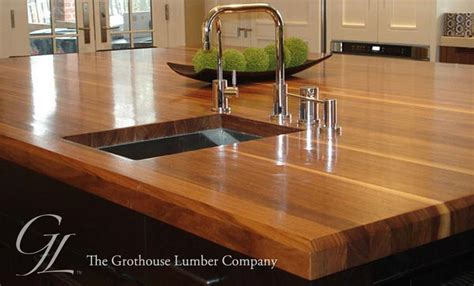 wood kitchen countertops custom walnut wood countertop in boston massachusetts