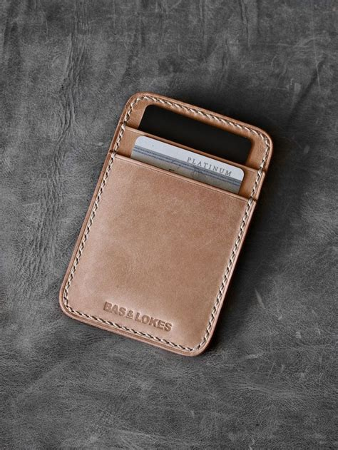 Handmade Mens Leather Wallet - best 25 slim leather wallet ideas on leather