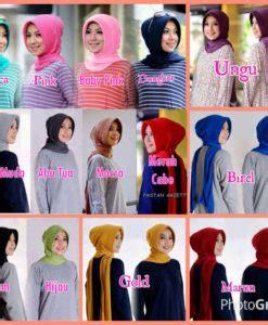 Segiempat Shaby Tassel moslem fashion kerenwow