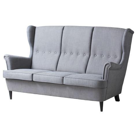 ikea fauteuil 3 places strandmon canap 233 3 places ikea d 233 co pinterest