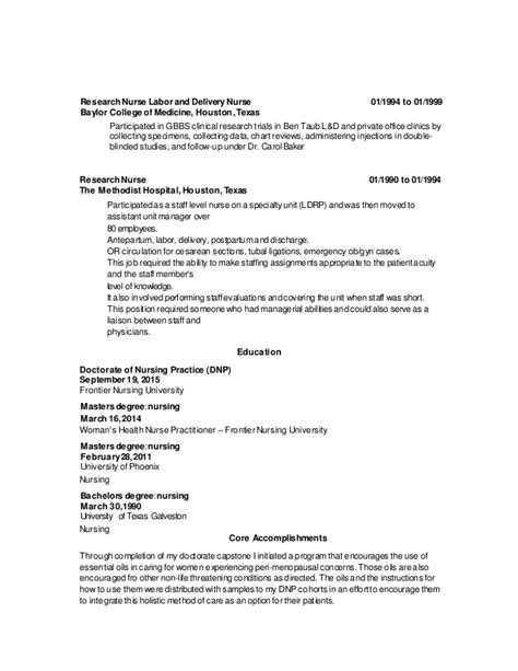 labor and delivery resume resume ideas