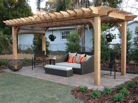 pergola kits decorating ideas images in patio