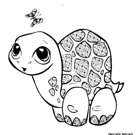 animal turtle online printable coloring pages free