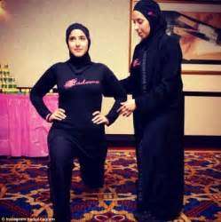 muslim woman launches fitness dvd to inspire others with