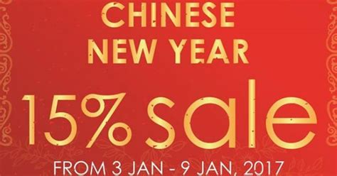 new year sale in singapore phoon huat singapore new year 15 sale promotion 3