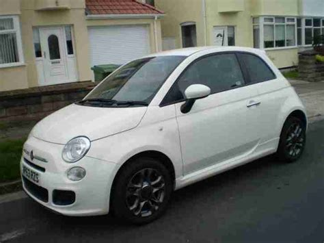 fiat 500s white fiat 2013 500 s white 63 plate damaged repaired car for sale