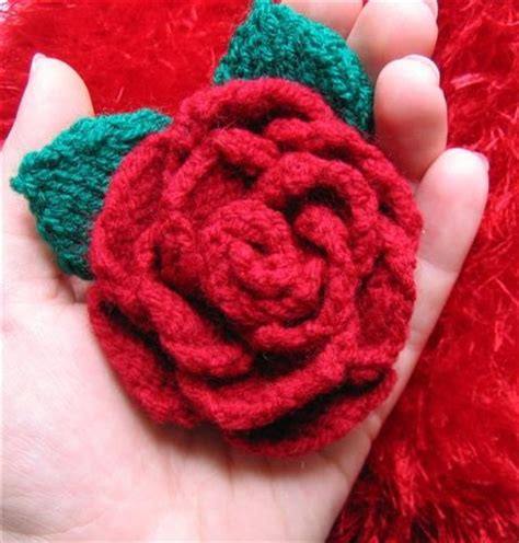 knitting pattern rose 17 best images about knit flowers on pinterest knitted