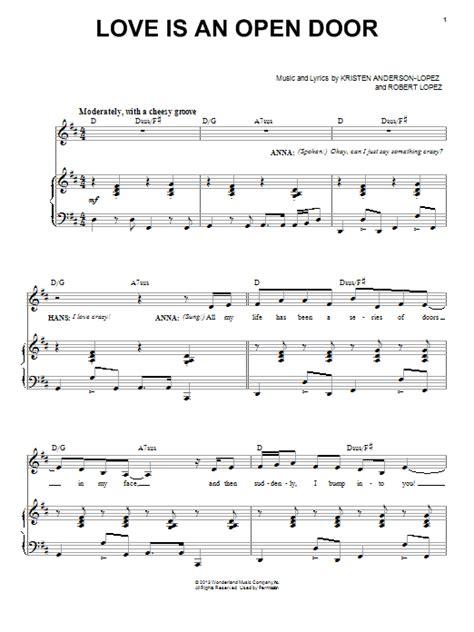 Is An Open Door Chords by Is An Open Door Sheet By Robert Piano