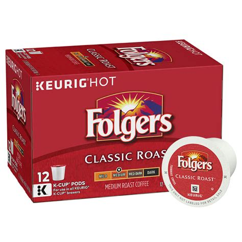 folgers coffee pods classic roast k cup pods folgers coffee