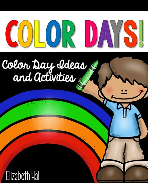 color of the day color day activities pin it to win it