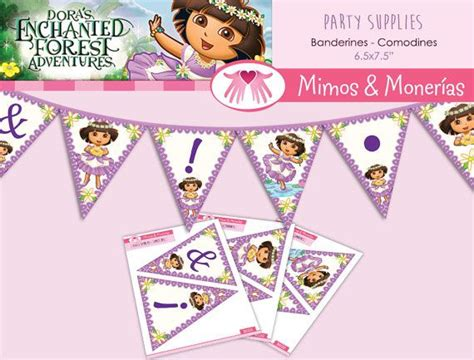 printable dora birthday banner 17 best images about party ideas diy on pinterest
