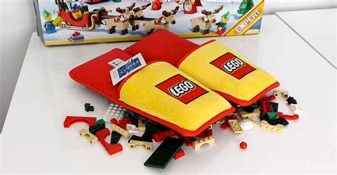 lego slippers for lego creates anti lego slippers technabob