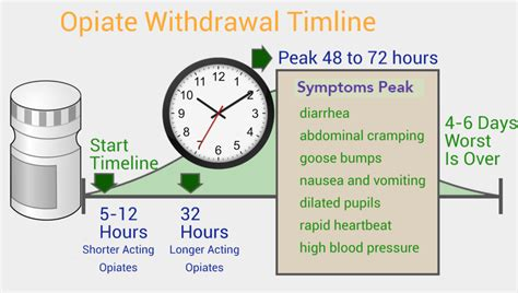 opiate withdrawal timeline safe harbour recovery