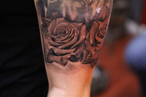 rose tattoo bryangvargas