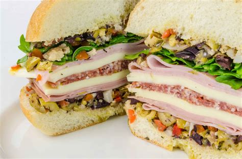 Wich Of The Week Muffaletta by Muffaletta Rolls