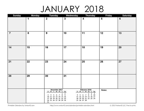 2016 printable monthly calendar vertex42 download a free printable monthly 2018 calendar from