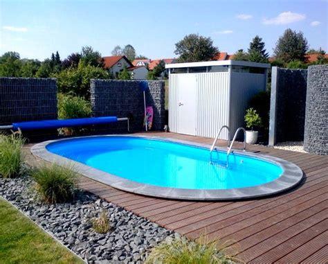 kleine pools für den garten die besten 17 ideen zu pool im garten auf pool