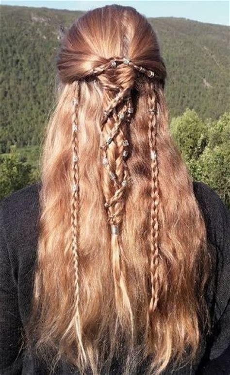 ancient celtic hairstyles viking braids