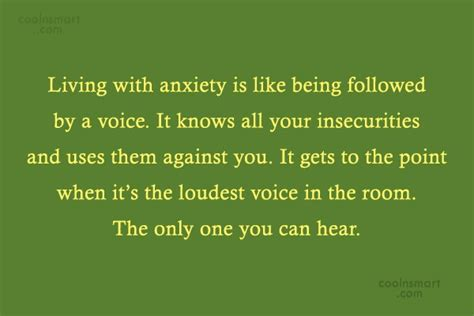 the loudest voice in the room anxiety quotes and sayings images pictures page 4 coolnsmart