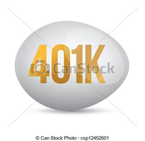 Drawing 401k by Vector Clipart Of Savings 401k Financial Planning