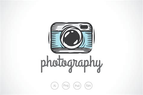 outstanding free photography logo templates for photoshop