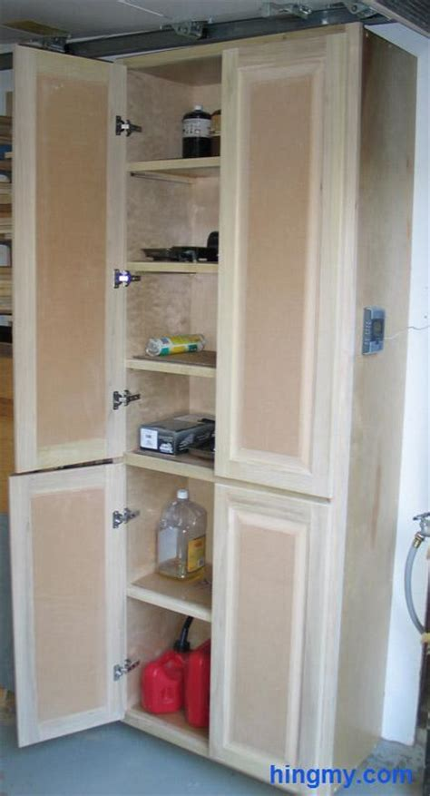 cabinet door storage ideas how to build a full length storage cabinet diy tips from