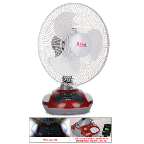 rechargeable fan shopping buy rechargeable fan with usb led l at best