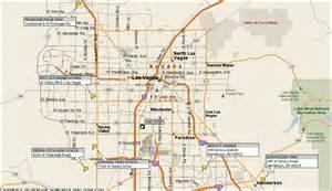 Map Of Las Vegas by Map Phoenix To Las Vegas