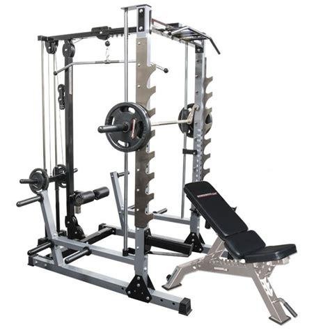 bench on smith machine smith machine master gym package