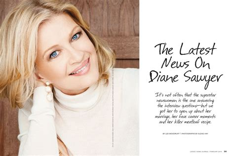 hairstyles ladies home journal diane sawyer at ladies home journal february 2014