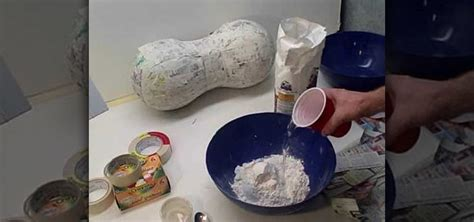 How 2 Make Paper Mache - how to make fast and easy paper mache 171 papercraft