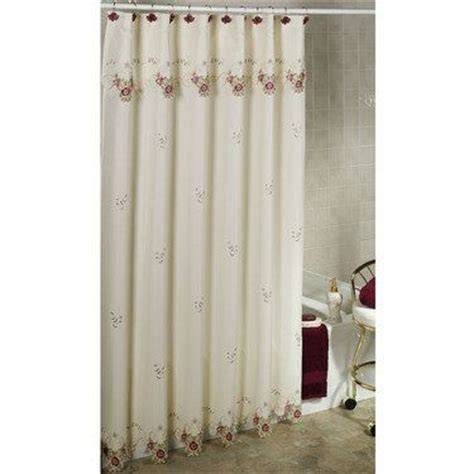 pull down curtains bella rose shower curtain