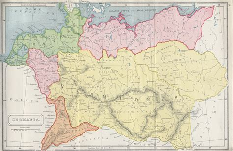 maps germania larger map of germania germania