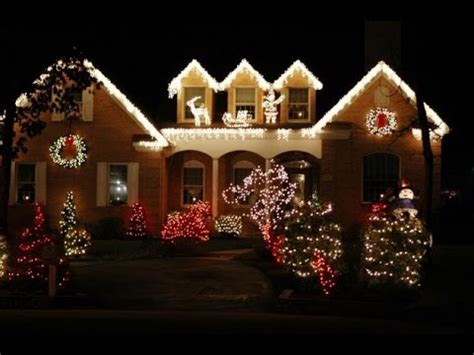 decorations for homes the best 40 outdoor christmas lighting ideas that will
