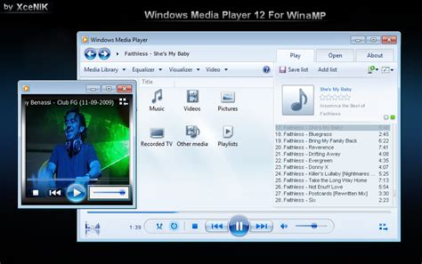 themes for windows 7 media player theme styles free windows media player 12 basic skin for