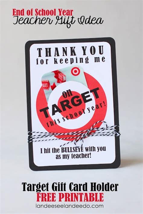 printable gift certificate target 7 diy teacher gifts printables