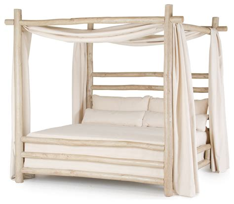 rustic canopy bed rustic canopy bed 4092 by la lune collection rustic