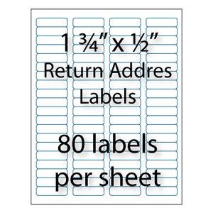 bulk return address labels avery 174 compatible stik2it com