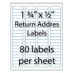 bulk return address labels avery 174 compatible stik2it