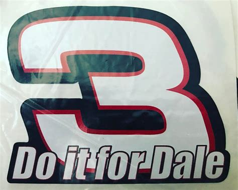 Do It For Dale Sticker