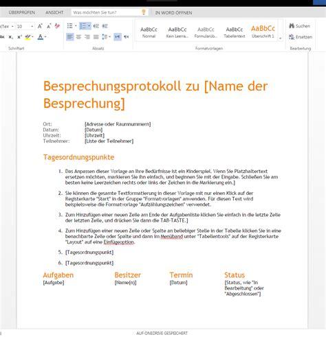 Besprechungseinladung Muster Besprechungsnotiz Orange Wordvorlage De