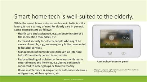 Smart Home Design For Elderly Smart Homes For Elderly Care In India