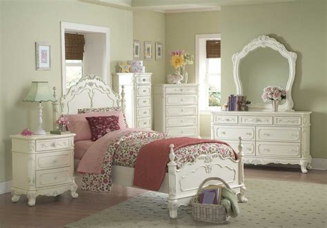 white princess bedroom set princess white floral design youth bedroom furniture set