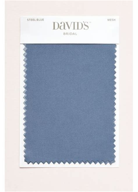 david s bridal color swatches steel blue fabric swatch davids bridal