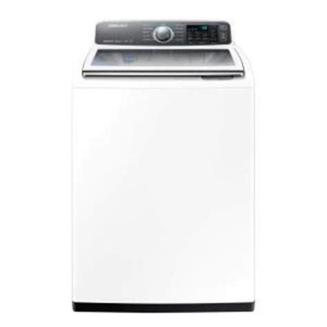 samsung 4 8 cu ft high efficiency top load washer with