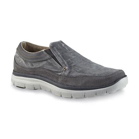 Sepatu Skechers Relaxed Fit Memory Foam skechers s olmos gray relaxed fit memory foam loafer