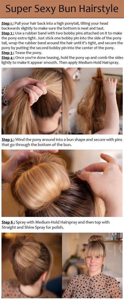 hairstyles buns step by step bun hairstyles step by step video quality hair accessories