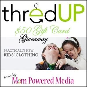 Thredup Gift Card - 50 thredup gift card giveaway motherhood defined